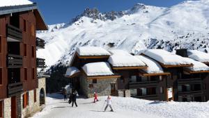 Wintersport - Ski - Le Hameau de Mottaret - Méribel - Les Trois Vallées - Frankrijk