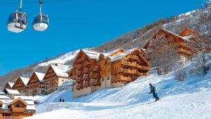 Wintersport - Ski - Residence Hameau & Chalets de la Vallée d'Or - Valloire - Galibier Thabor - Frankrijk