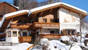 Wintersport - Ski - Pension Jagerhäusl - Gerlos - Zillertal - Oostenrijk