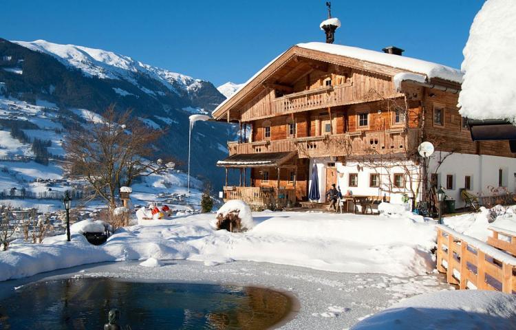 Bergchalet Klausner Edelweiss Tirol