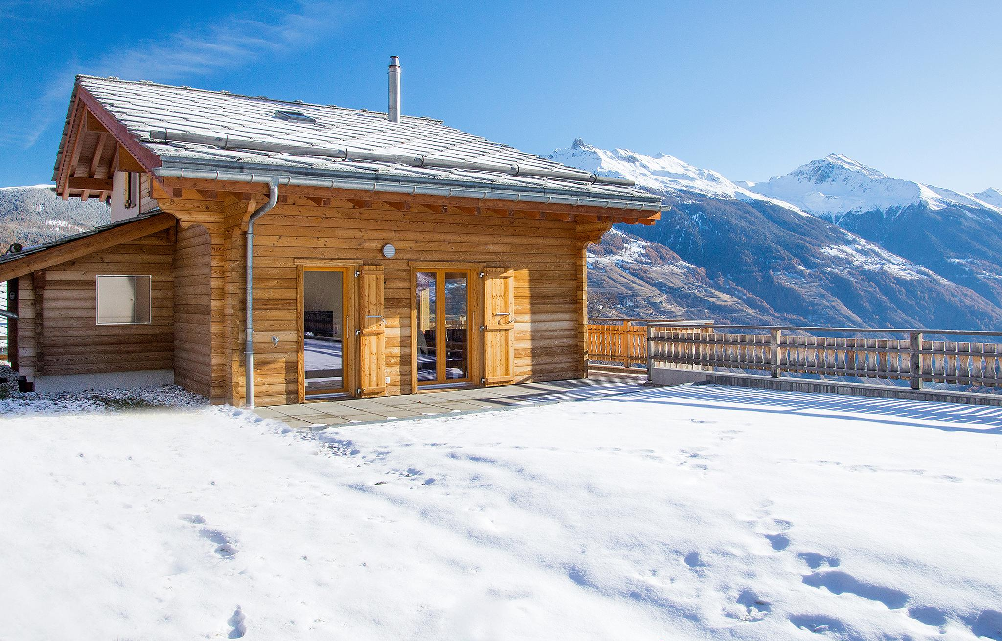 Chalet Ourson Blanc